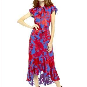 Alice and Olivia Greta Maxi Dress Size 4
